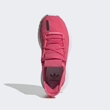 Girls Originals Pink U_Path Run Shoes