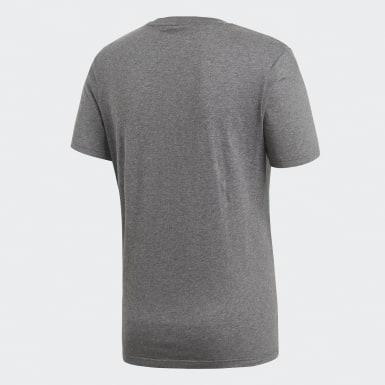 T-shirt Core 18 Gris Hommes Training
