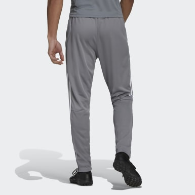 Men Football Grey Tiro 19 Training Pants