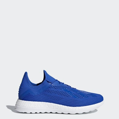 Men Football Blue X 18+ Trainers