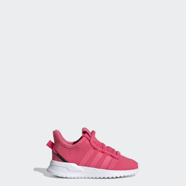 Zapatillas U_Path Run (UNISEX) Rosa Niño Originals