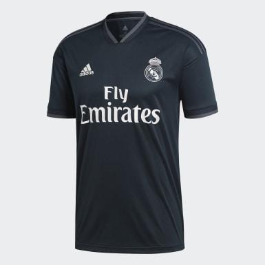 Mænd Fodbold Grå Real Madrid udebanetrøje