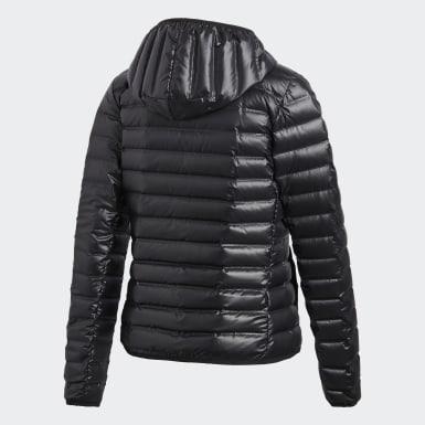 Dames Urban Outdoor zwart Varilite Donsjack met Capuchon