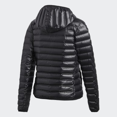 Kvinder Urban Outdoor Sort Varilite Hooded dunjakke