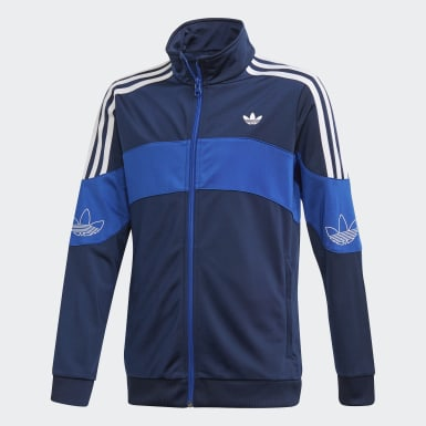 Kids Originals Blue Bandrix Track Jacket