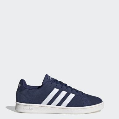 Sapatos Grand Court Azul Homem Ténis
