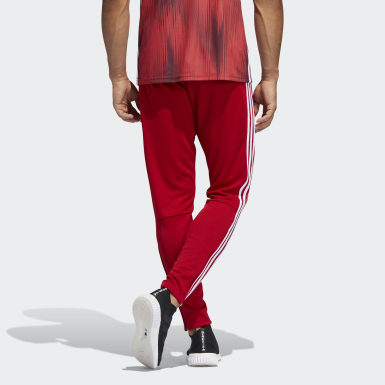 Men Football Red Tiro 19 Training Pants
