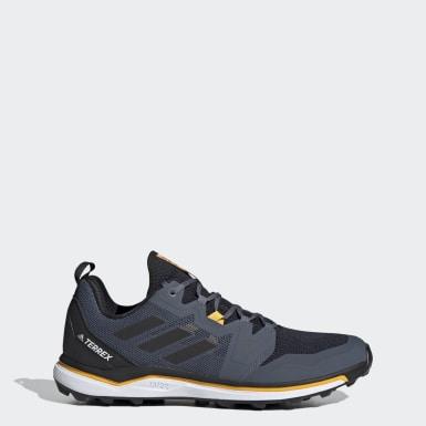 Männer TERREX TERREX Agravic Trailrunning-Schuh Blau