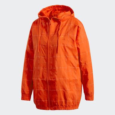 Giacca a vento CLRDO Arancione Donna Originals