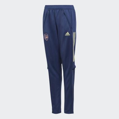 Děti Fotbal modrá Kalhoty Arsenal Training