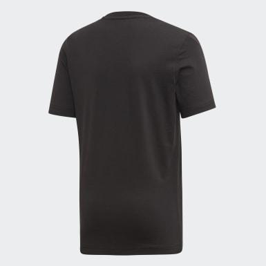 Camiseta Estampada CR Flamengo Preto Meninos Futebol