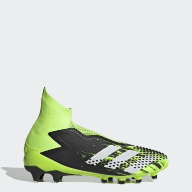 Men's Soccer Green Predator Mutator 20+ Artificial Grass Cleats