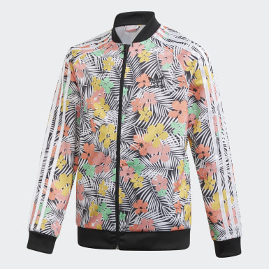 Kids Originals Multicolor SST Track Jacket