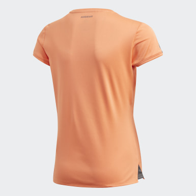 Girls Padeltennis Orange Club Tee