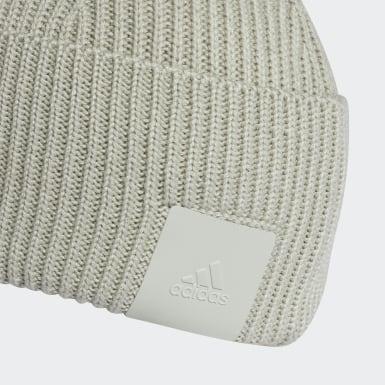 серый Шапка-бини adidas Z.N.E.