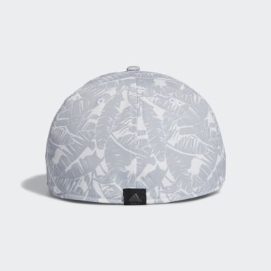 Men Golf White Tour Print Hat