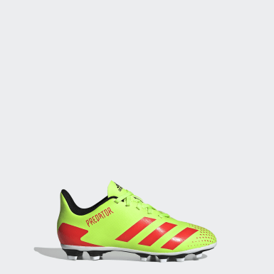 Chaussure Predator 20.4Multi-surfaces vert Enfants Soccer