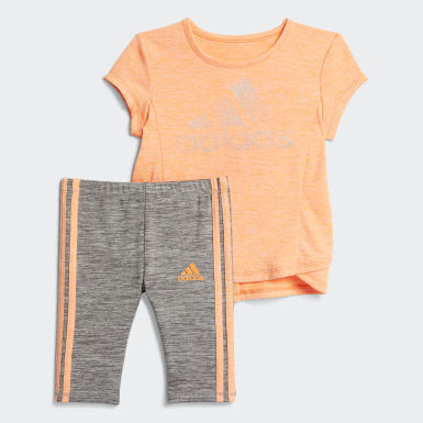 Infant & Toddler Training Mélange Capri Tights Set