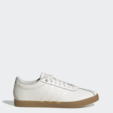 Women Sport Inspired White Courtset Shoes