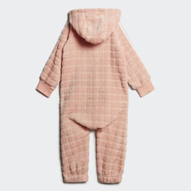 Infant Training Pink Winter Onesie