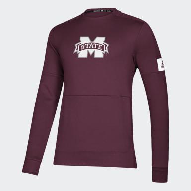 Men's Athletics Multicolor Bulldogs Game Mode Crew Sweatshirt