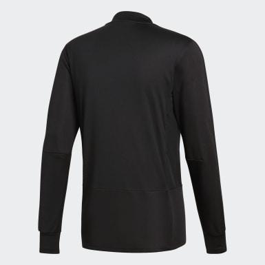 Camiseta manga larga entrenamiento Condivo 18 Player Focus Negro Hombre Training