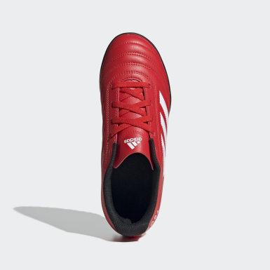 Guayos Copa 20.4 Pasto Sintético Rojo Niño Fútbol