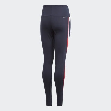 Mädchen Training Bold AEROREADY Tight Blau