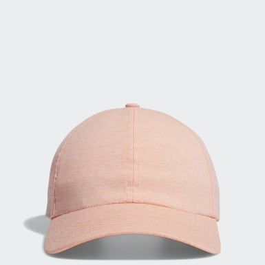 Women Golf Pink Crestable Heathered Hat