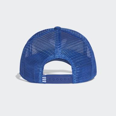 Originals Trefoil Trucker Kappe Blau
