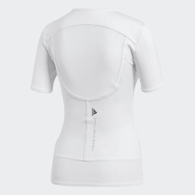 Polo Performance Essentials Blanco Mujer adidas by Stella McCartney