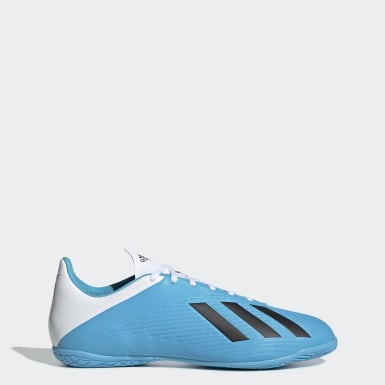 Chaussure X 19.4 Indoor Turquoise Hommes Football