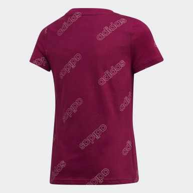 Camiseta Classics Burgundy Niña Athletics