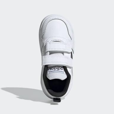 Infants Running White Tensaur Shoes