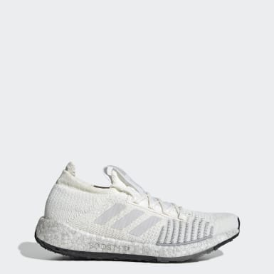 Kvinder Løb Hvid Pulseboost HD sko