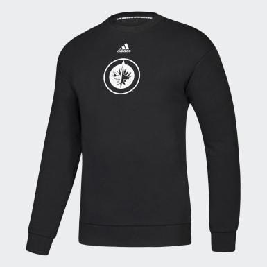 Jets Must Haves 3-Stripes Crew Sweatshirt
