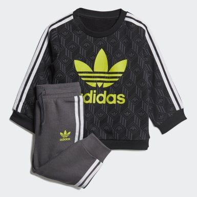 Kinder Originals Sweatshirt-Set Schwarz