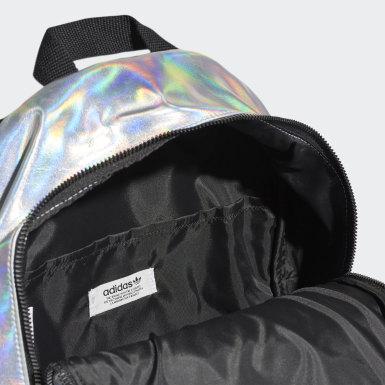 Metallic Backpack Srebrny