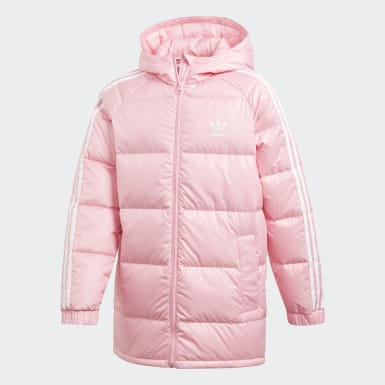 Girls Originals Pink Down Jacket