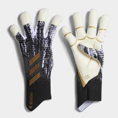 Football Black Predator 20 Pro Hybrid Goalkeeper Gloves