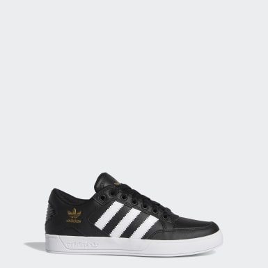 Youth Originals Black Hardcourt Low Shoes