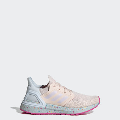 Youth Running Pink Ultraboost 20 Running Shoes