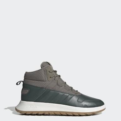 зеленый Зимние ботинки Fusion