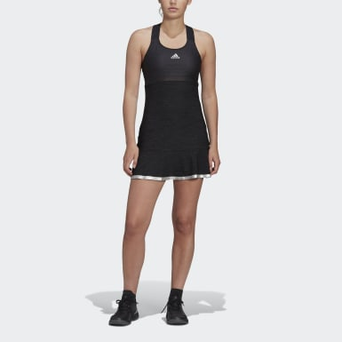 Women's Tennis Black GLAM ON TENNIS Y-DRESS