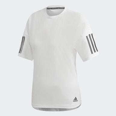 Kadın Athletics Beyaz Must Haves 3 Bantlı Modern Tişört
