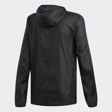 Men Running Black Response Jacket