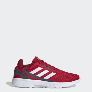 Men Running Red Nebzed Shoes
