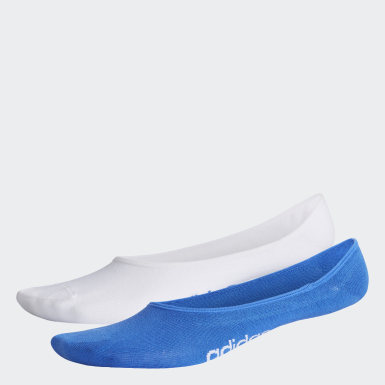 Yoga Blue Colorblock Liner Socks 2 Pairs