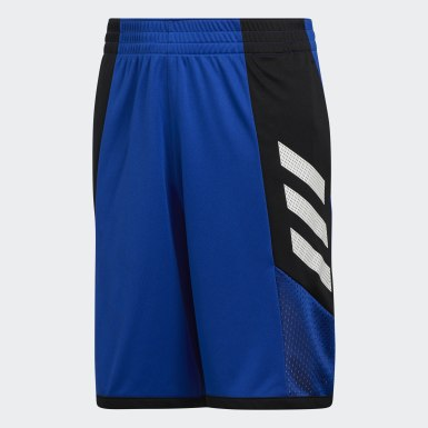 Children Basketball Blue Pro Bounce Shorts