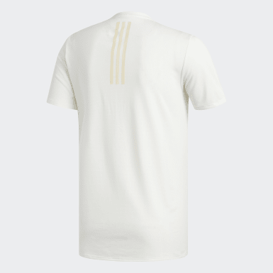 Men Running White Supernova Reflective Tee